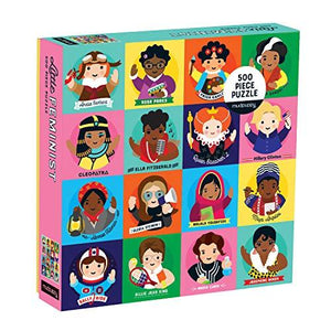 Little Feminist 500 Piece Family Puzzle - Jigsaw Puzzles - Spiffy