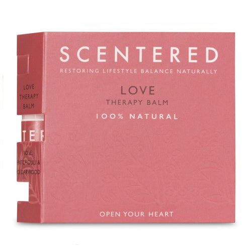 Scentered Love Mini Therapy Balm - 1.5g in Booklet - Therapy Balms - Spiffy