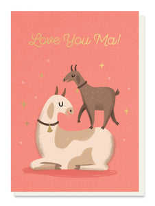 Love You Ma - Mothers Day Card - Cards - Mothers Day - Spiffy