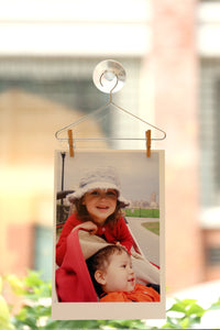Set of 3 Photo Hangers - Clip Photo Holders - Spiffy