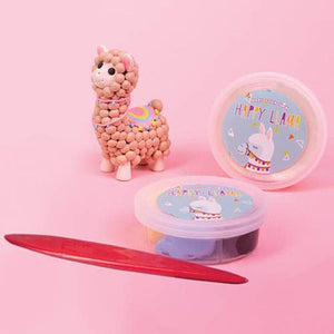 Make Your Own Llama - Dough Modelling Kit - Craft Kits - Spiffy