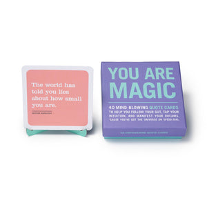 You Are Magic Inner Truth Deck - Inspirational Message Sets - Spiffy
