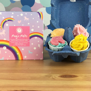 Magic Melt Luxury Bath Melt Collection by Wild Olive
