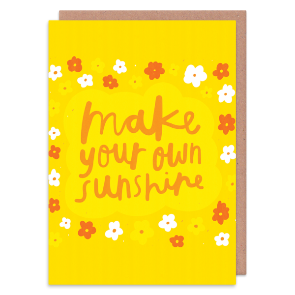 Make Your Own Sunshine Greetings Card - Cards - Encouragement - Spiffy