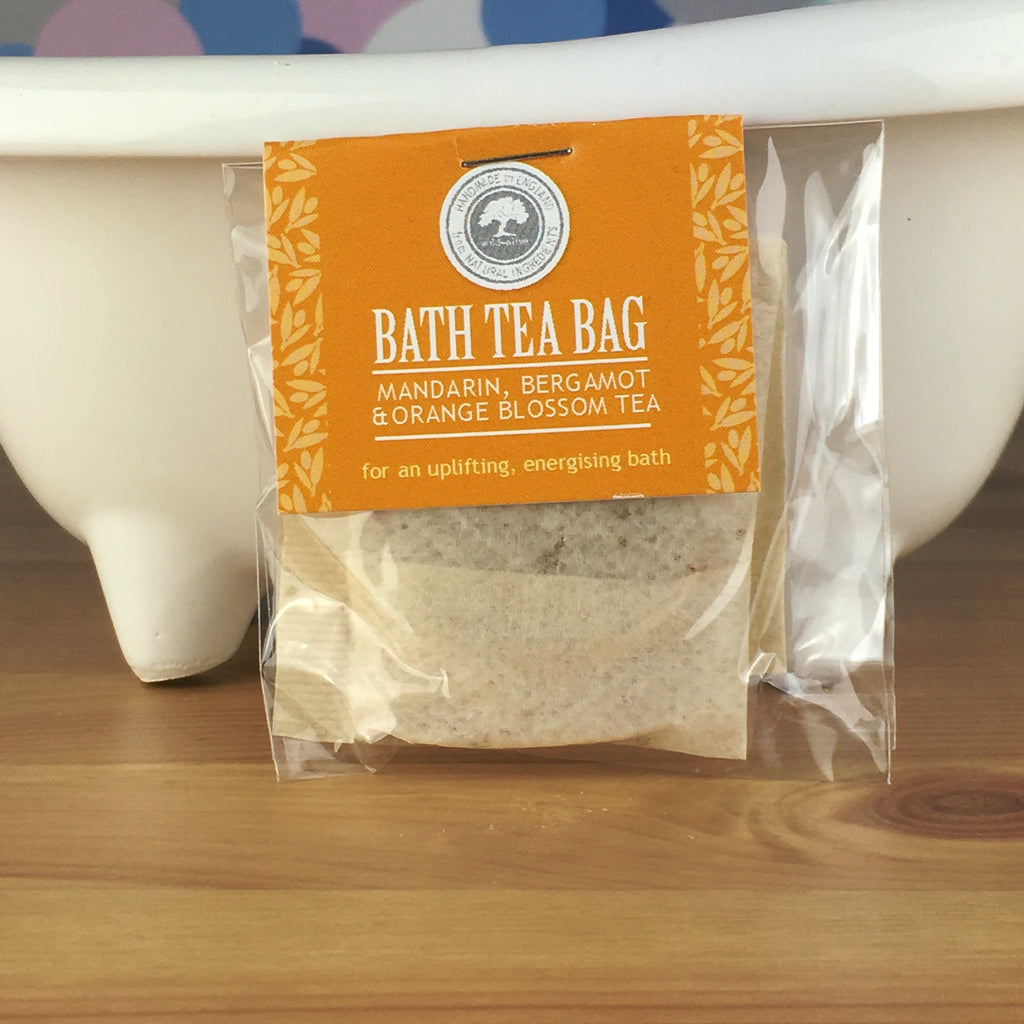 Mandarin, Bergamot and Orange Blossom Tea - Bath Tea Bag by Wild Olive - Spiffy