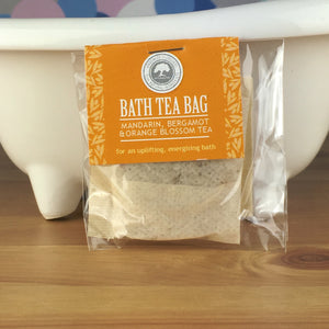 Mandarin, Bergamot and Orange Blossom Tea - Bath Tea Bag by Wild Olive