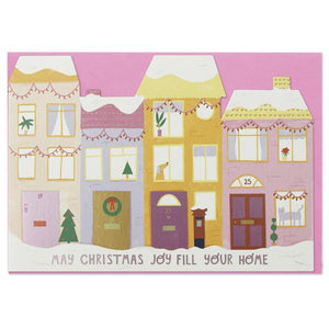 """May Christmas Joy Fill Your Home"" Christmas Card - Spiffy"
