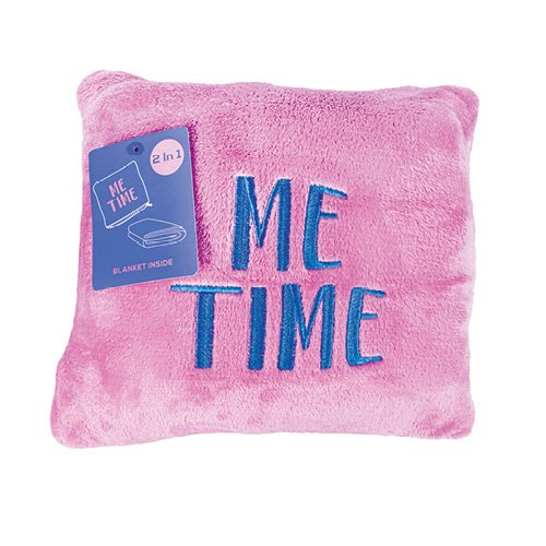 Me Time Pillow Blanket