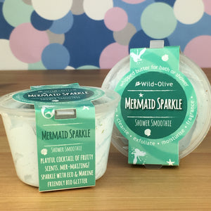 Mermaid Sparkle Shower Smoothie by Wild Olive - Shower Smoothies - Spiffy