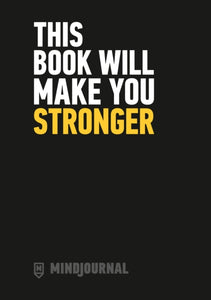 MindJournal: This Book Will Make You Stronger - The Guide to Journaling For Men (Book by Ollie Aplin) - Journals - Spiffy