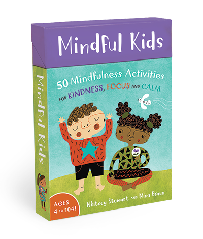 Mindful Kids: 50 Mindfulness Activities (By Whitney Stewart) - Children's Activity Books - Spiffy