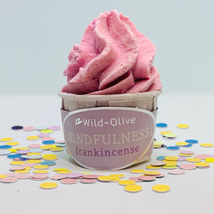 Mindfulness Wellbeing Bath Melt by Wild Olive - Spiffy