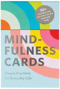 Mindfulness Cards: Simple Practices for Everyday Life - Spiffy