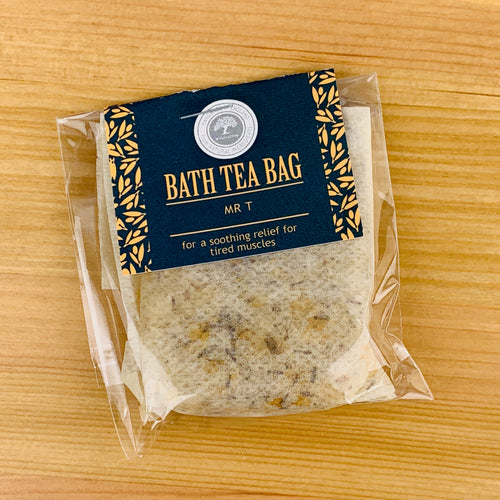 Mr T Bath Tea Bag by Wild Olive