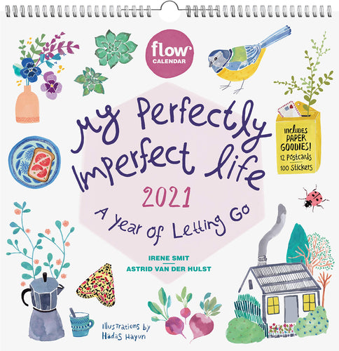 My Perfectly Imperfect Life Wall Calendar 2021