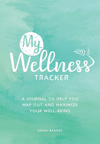 My Wellness Tracker (Book by Anna Barnes) - Spiffy