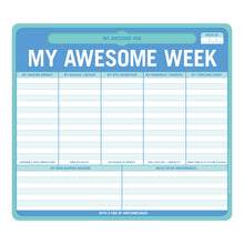 My Awesome Week Mouse/Note Pad