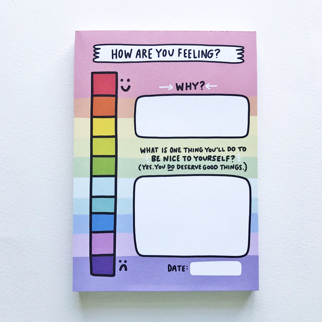 My Mood Tracker Notepad by Angela Chick - Spiffy