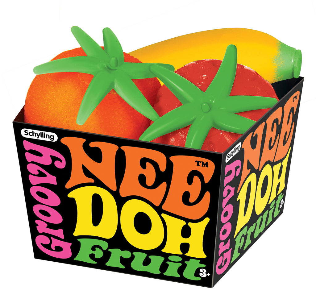 Nee-Doh Groovy Fruits - Spiffy