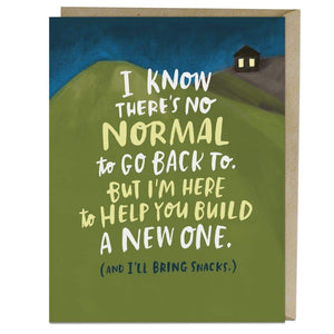 """I Know There's No Normal"" Empathy Card - Cards - Empathy - Spiffy"
