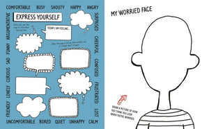No Worries! A mindful activity book for young people who sometimes feel anxious or stressed - Books for Children age 7-11 - Spiffy