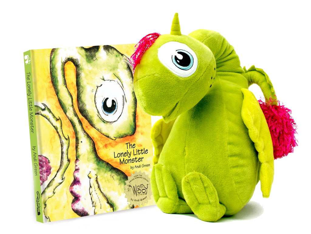 Nola - The Monster of Loneliness - WorryWoo Plush Toy - Spiffy