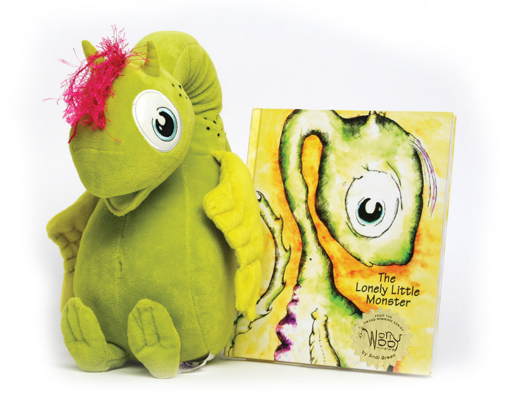 Nola - The Lonely Little Monster - WorryWoo Book - Spiffy