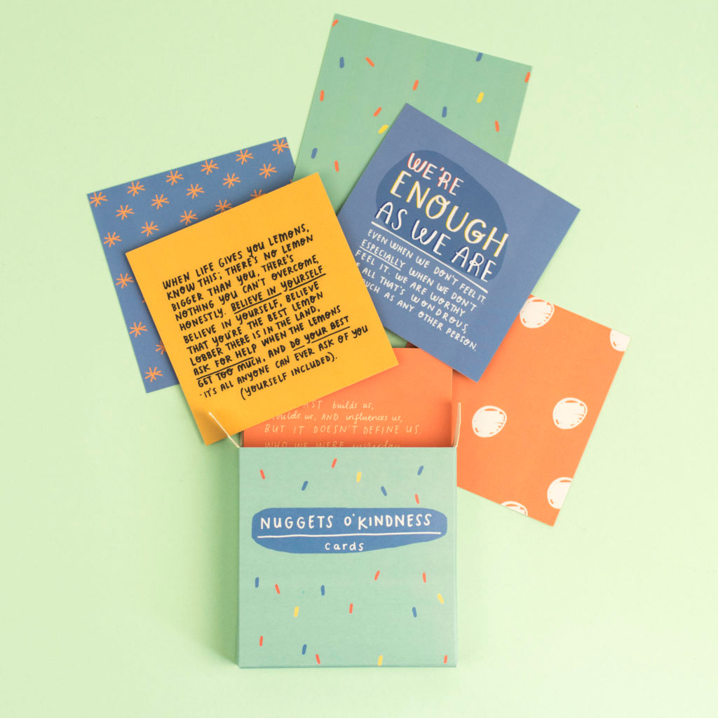 Nuggets O' Kindness Cards - Inspirational Message Sets - Spiffy