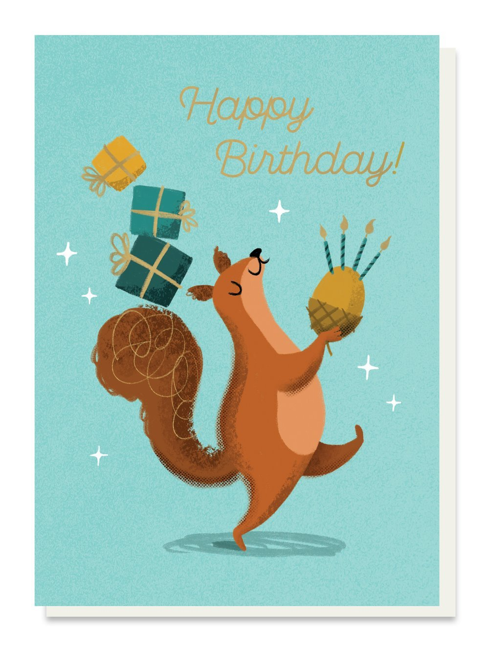Nutty Birthday Card - Cards - Happy Birthday - Spiffy