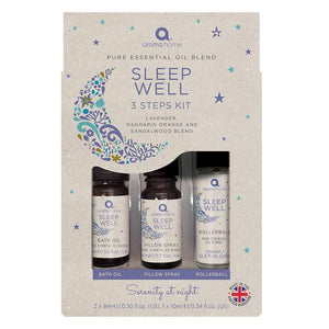 Sleep Well Kit - Pure Essential Oil Blends - Essential Oil Blends - Spiffy