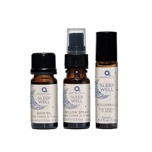 Sleep Well Kit - Pure Essential Oil Blends - Spiffy