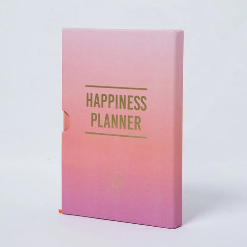 The 100 Day Planner - Orange and Pink - Spiffy