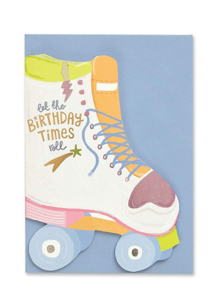 """Let The Birthday Times Roll"" Birthday Card - Spiffy"