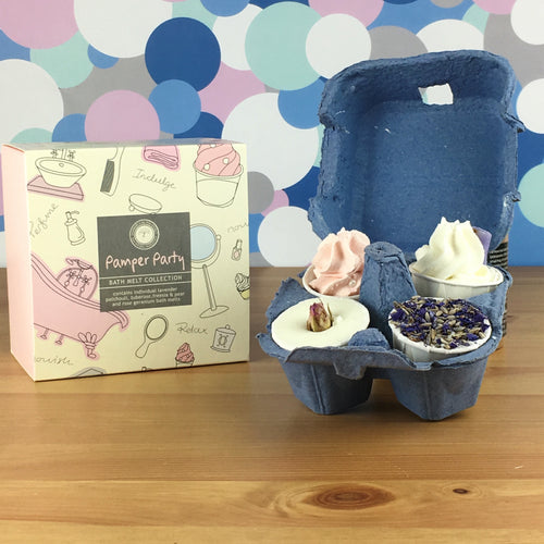 Pamper Party Bath Luxury Melt Gift Set by Wild Olive