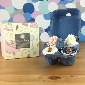 Pamper Party Bath Luxury Melt Gift Set by Wild Olive - Bath Melts - Spiffy