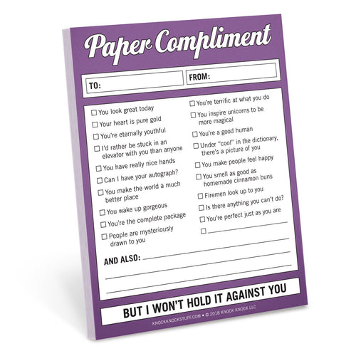 Paper Compliment Nifty Notes - Notepads - Spiffy