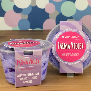 Parma Violet Shower Smoothie by Wild Olive - Shower Smoothies - Spiffy