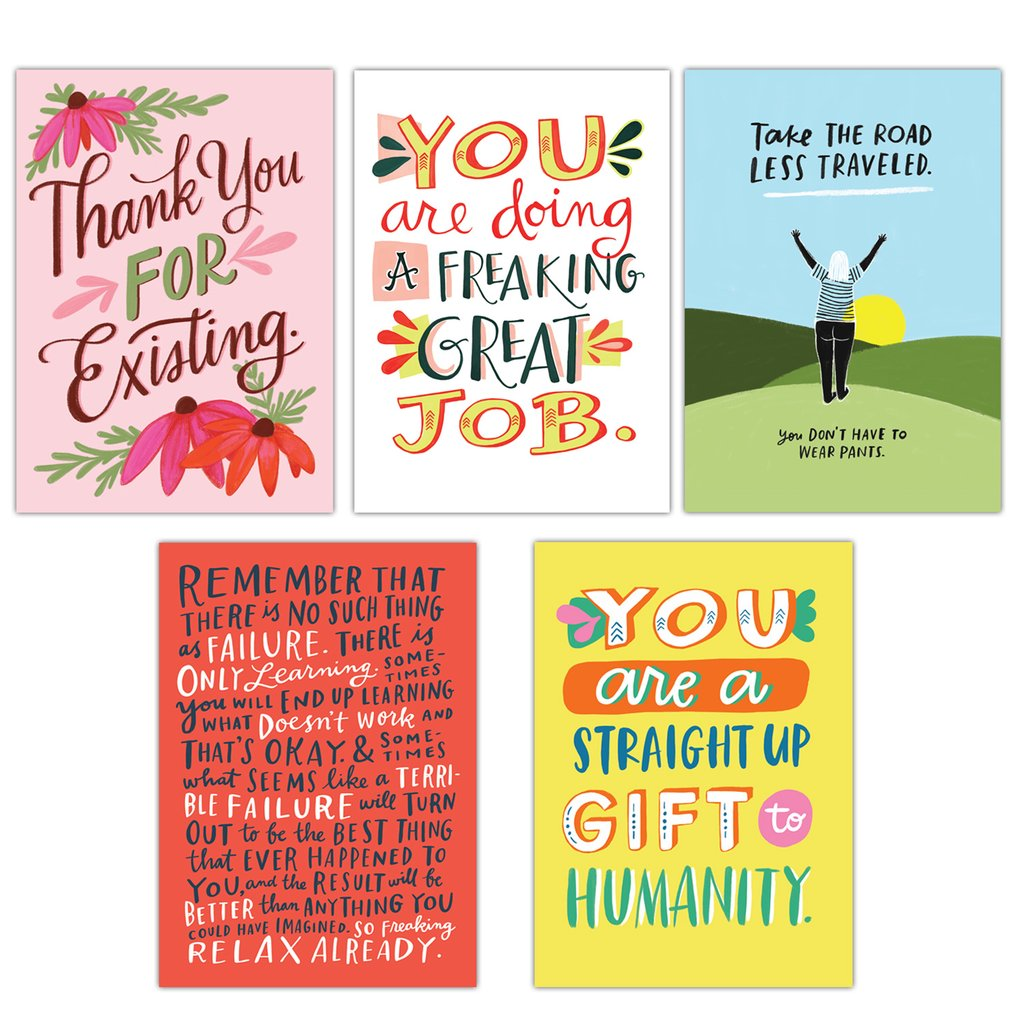 Pep Talk Postcards - Spiffy