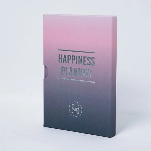 The 100 Day Planner - Pink and Charcoal - Journals - Spiffy