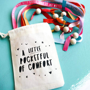A Little Pocketful of Comfort Reassuring Messages - Inspirational Message Sets - Spiffy