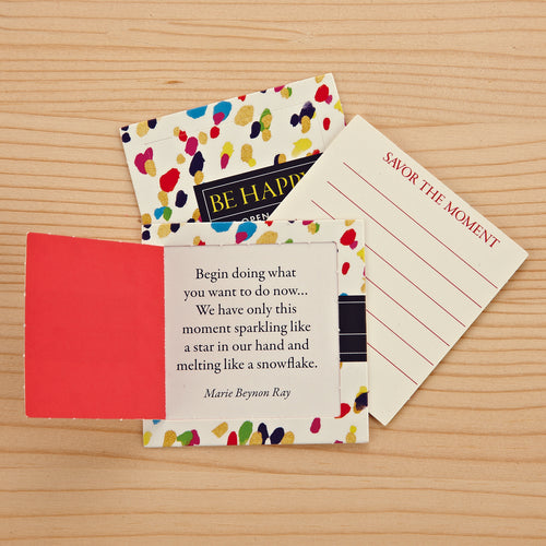 Pop Open Message Cards - Be Happy