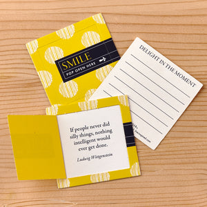 Pop Open Message Cards - Smile - Inspirational Message Sets - Spiffy
