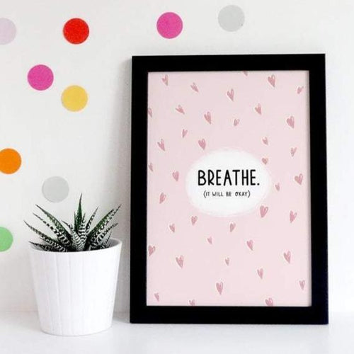 Breathe A5 Print - Postcard Prints - Spiffy