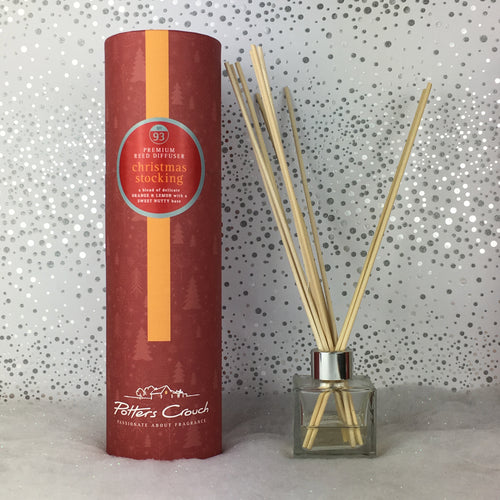 Potters Crouch Luxury Christmas Reed Diffuser - Christmas Stocking