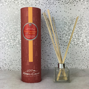 Potters Crouch Luxury Christmas Reed Diffuser - Frankincense and Myrrh