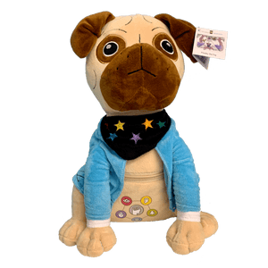 Presley the Pug Plush Toy - Children's Books and Toys - Spiffy