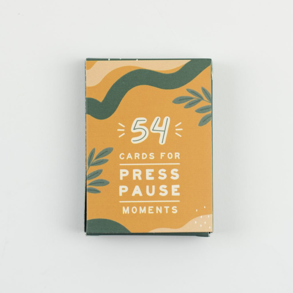 54 Cards for Press Pause Moments - Spiffy