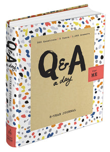 Q&A a Day For Me: A Three-Year Journal for Teens
