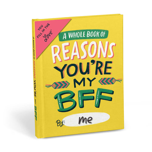 Reasons You're My BFF - Fill In The Love Journal - Inspirational Stationery - Spiffy
