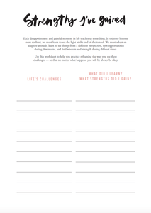 Resilience Journal - The Happiness Planner